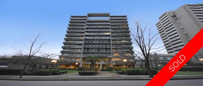 Metrotown Apartment for sale: Bonsor Avenue Place 2 bedroom 910 sq.ft. (Listed 2015-02-24)