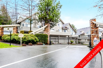 Westwood Plateau Townhouse for sale: Silver Oaks 4 Bedrooms+Den+Office 2,302 sq.ft. (Listed 2016-02-01)